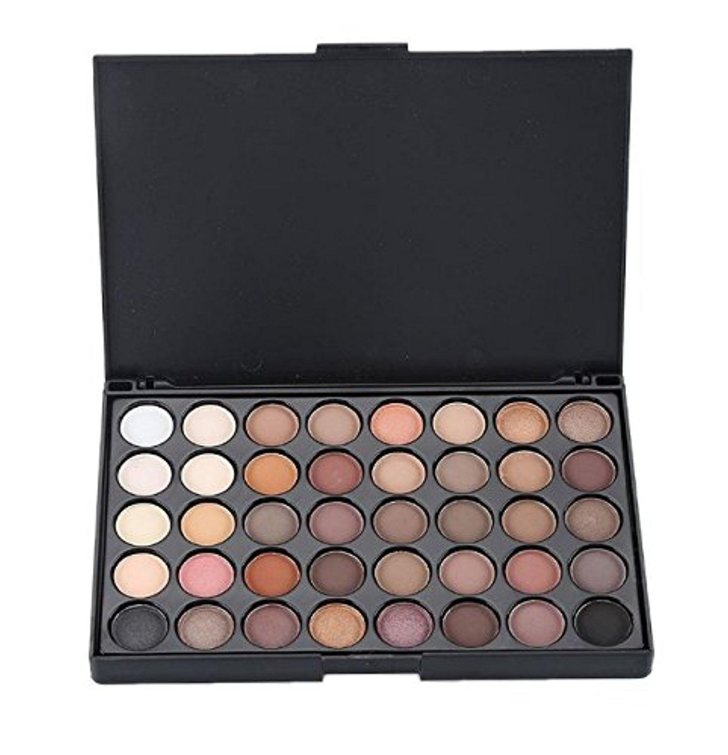 Cosmetic Matte Eyeshadow Cream Eye Shadow Makeup Palette Shimmer Set 40 Color by Micro Shops