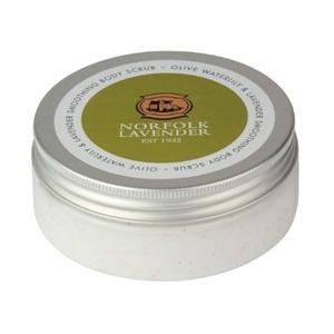 Smoothing Body Scrub Exfoliating - Olive Waterlily Norfolk Lavender 200ml by Norfolk Lavender