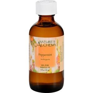 2Pack! Nature's Alchemy Essential Oil - 100 Percent Pure - Peppermint - 4 fl oz