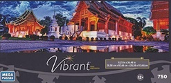 Vibrant mega puzzle Phra Singh Temple by Vibrant
