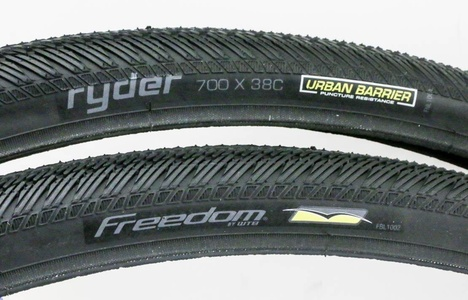 2 QTY WTB Freedom Rider Commute 700c x 38c MTB Hybrid Bike Tires Puncture Resist