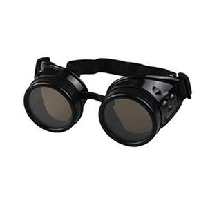 Rain G Steampunk Victorian Goggles welding Glasses diesel punk Gothic Glasses (Steampunk C)