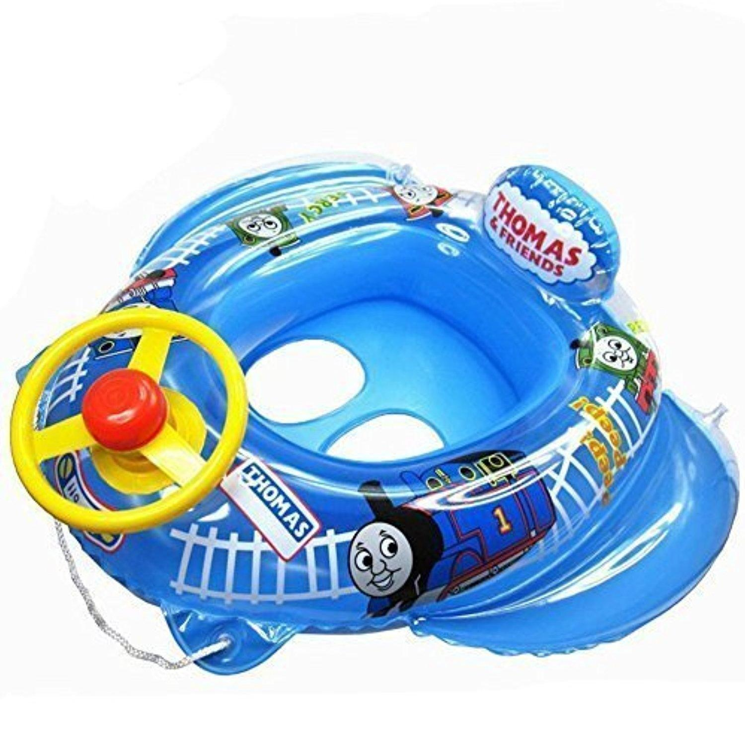 line Store Summer Swimming Kids Baby Inflatable Pool Seat Float