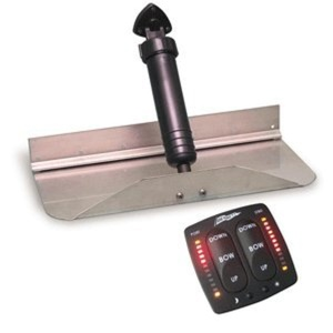 Bennett Marine 1212EIC 12 x 12 Trim Tab System with Electronic Indication Control by Bennett Marine