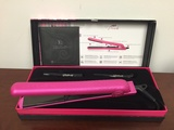 Royale Hot Tools Classic Diamond Hot Pink Flat Iron/Hair straightener 1-1/4