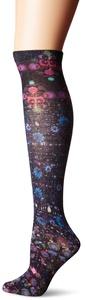 K. Bell Socks Women's Single Pack 360 Print Knee High