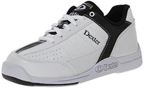 Dexter Men's Ricky III Bowling Shoes - White/Black, US: 11.5, UK: 10 by Dexter