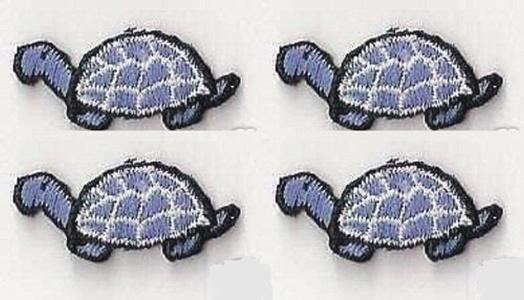 Applique Patches Logo Patterns Animal, Lot of 4Pcs Cute 1+