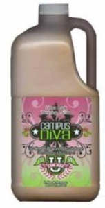 Campus Diva 64 oz Tanning Lotion Bronzer with Pump
