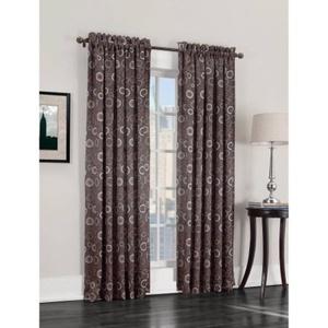 Sun Zero Emmett Room Darkening Energy Efficient Curtain Panel |Noise Reducing Blackout Curtain