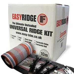 EasyRidge F Dry Fix Ridge Kit (10m) - Black by Easy Trim