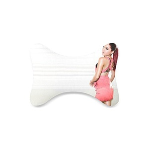 Fashion Custom Ariana Grande Bone Shape Car Seat Neck Rest Custom Car Neck Pillow/Cushion Head Support Neck Support Pillow