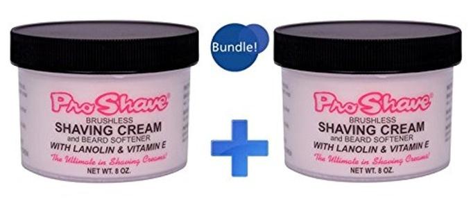 Pro-Shave Brushless Shaving Cream 8oz, Set of 2