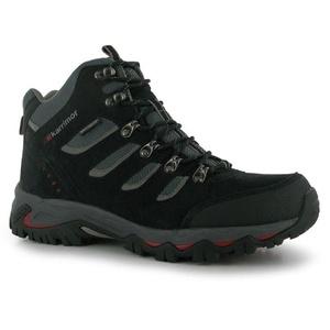 Mens Karrimor Mount Mid Walking Shoes Black (UK 8.5 / US 9)