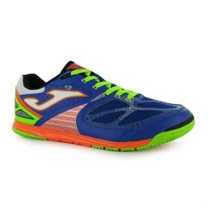 Mens Joma Lozana Indoor Football Boots Shoes Blue Orange (UK 10.5 / US 11.5)