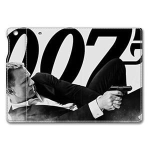 ipad mini 4 leather case, 007 james bond case for ipad mini 4