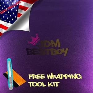 Free Tool Kit EZAUTOWRAP Purple Purple Chameleon Car Vinyl Wrap Sticker Decal Film Sheet with Air Release Technology - 48