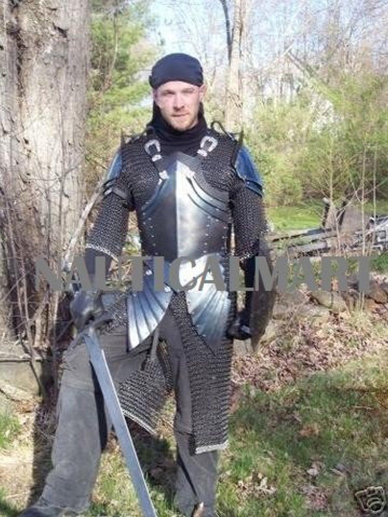 online store  medieval knight half plate armor   shield