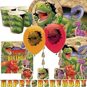 Dino Blast Ultimate Party Kit for 8 by Party Bags 2 Go