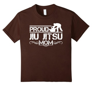 Kids Jiu Jitsu Tee Shirts - Jiu Jitsu Mom Shirt 6 Brown