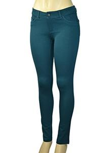 Alfa Global Skinny Dress Pants (L, DarkTealBlue)