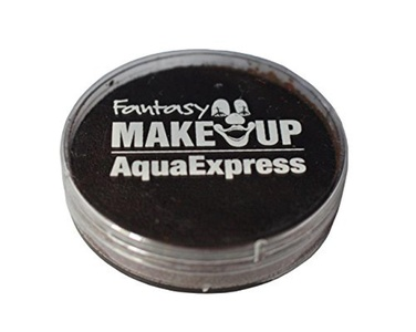 Fantasy Makeup Aqua Express Make-Up, 15 G., Dark Brown by Fantasy Makeup
