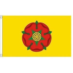 Lancashire New County Flag 3x2ft 75 Denier by NRE Lanchashire Flag