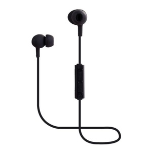 Iusun In-Ear Stereo Bluetooth Wireless Headphones Sports Headset Earphone (black)