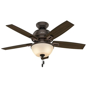 Hunter Fan Donegan Collection 44-inch Ceiling Fan With Light Kit