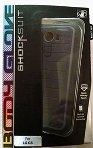 New OEM Body Glove LG G3 SHOCKSUIT Original Case Cover BLACK