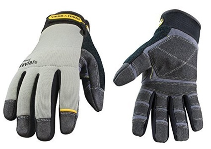 Youngstown Glove 05-3080-70-L General Utility Lined with KEVLAR Glove Large, Gray by Youngstown Glove