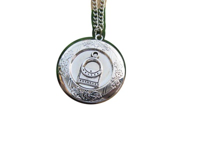 Ancient Silver Bag Locket, Antique style Locket,Bag Locket Jewelry