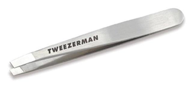 Tweezerman Classic Stainless Steel Mini Slant Tweezer by Tweezerman