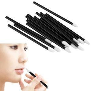 Disposable Lip Brush, Mostsola 100 Pcs Disposable MakeUp Lip Brush Lipstick Gloss Wands Applicator Perfect Make Up Tool