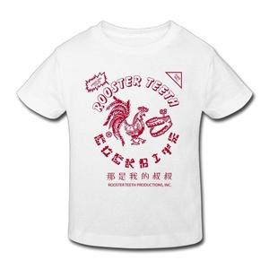 2-6 Years Kid's Chili Sauce Bottle Sriracha Hot Chili Sauce Funny Shirts