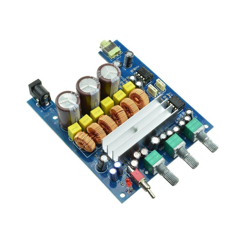 Industry Park Digital Tpa3116d2 2 1 Hifi Subwoofer Amplifier Board  50w+50w+100w Beyond Lm1875