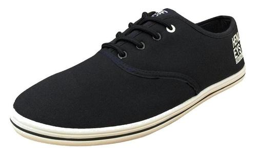 Henleys Men's Stash Canvas Pumps Sneakers Navy US 11