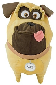 16 Inch The Secret Life of Pets Giant Soft Plush Toy - Mel the Pug - TV & Film Character Toys by The Secret Life Of Pets