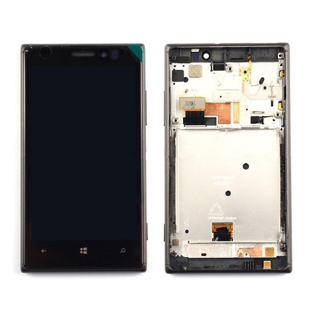 NEW Nokia Lumia 925 LCD Display With Touch Screen Digitizer Assembly W/Frame