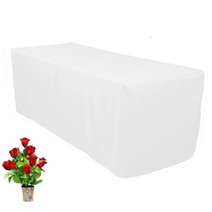 OWS Fitted Rectangle Table Cloth Tresale Table Cover Trade show Booth DJ 48