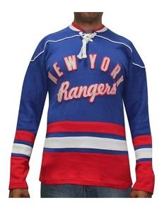 Mens NHL New York Rangers Vintage Look Hockey Jersey