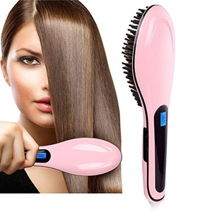 Extreme LED Straightening and Detangling Heated Hair Brush