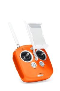 Remote Controller Silicone Protective Case for DJI Phantom 4 / Phantom 3 Professional & Advanced / DJI Inspire 1 / M100 by C11 Orange