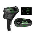 Car Kit MP3 Player FM Transmitter LCD Backlight Display Remote Control USB SD MMC Slot
