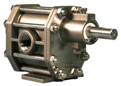 Oberdorfer Pumps - S94616CA - 1-1/2 Intermediate-Duty 316 Stainless Steel Rotary Gear Pump Head, Pedestal Design, 150 psi