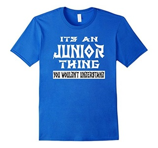 Men's It's An JUNIOR Thing You Wouldn't Understand T-Shirt  3XL Royal Blue