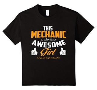 Kids Me-chanic T Shirt 10 Black