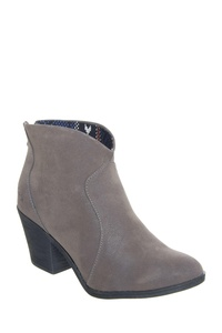 Blowfish Schloss Womens Ankle Booties Grey Fawn 6.5