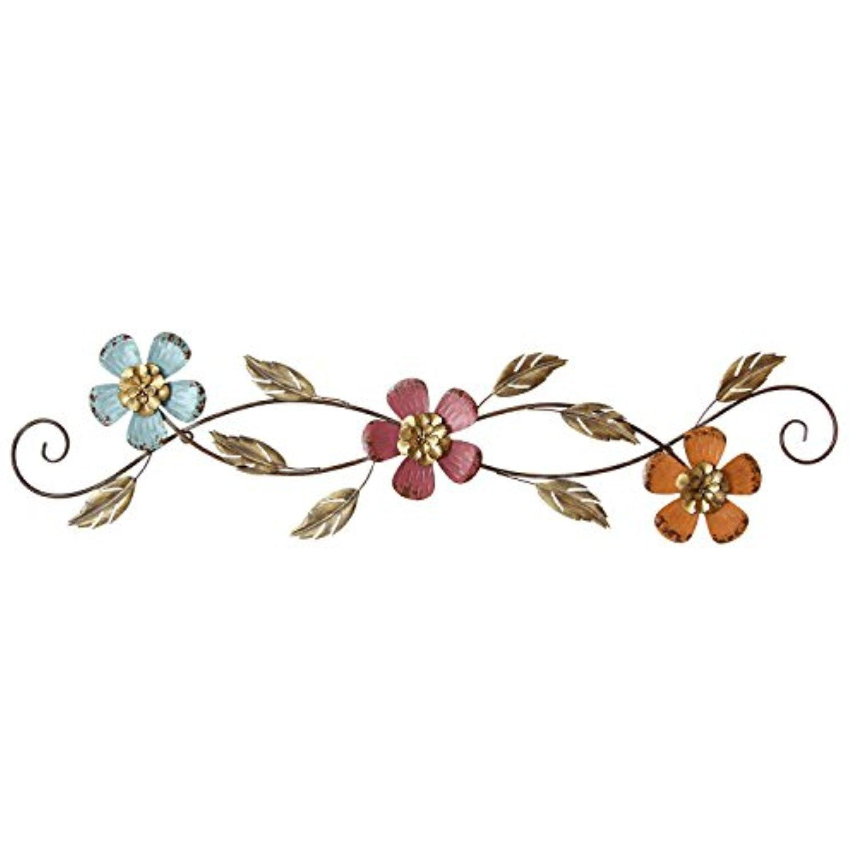 Stratton Home Decor S01874 floral Scroll Wall Decor
