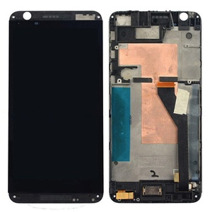 Black HTC Desire 820 Touch Digitizer Screen + Lcd Display Assembly With Frame